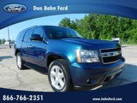 Don Bohn Ford presents this 2007 CHEVROLET TAHOE 2WD