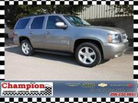 You will love this 4 x 4 LTZ Tahoe!! BIG GRINS!!! Even