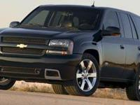 2007 Chevrolet TrailBlazer LS Silverstone Metallic. ABS
