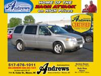 Gray Leather and Loaded Andrews Automotive Certified