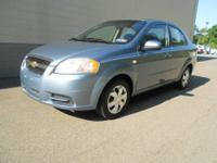 2007 Chevy Aveo! This is a very well maintainted, CLEAN