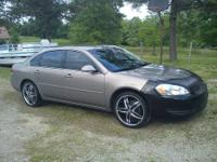 "2007 Impala LS, V6 Flex Fuel, nice interior, 20"" custom"