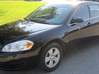 2007 Chevy Impala LT 3.5L V6 Black/Beige