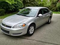 2007 CHEVY IMPALA LT. Flex fuel. Silver Outside, Gray