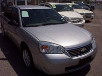 2007 CHEVY MALIBU LS 2.2L 4CYL. ENG. COLD A/C POWER