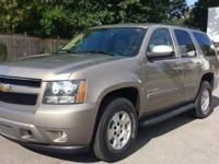 Exceptionally good Tahoe! CLEAN CARFAX! ONE OWNER! -111