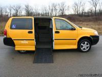 This is a Chevy Uplander Handicap Van.  This van