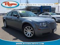 Silver Steel Metallic Clearcoat 2007 Chrysler 300 RWD
