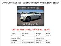 2007 Chrysler 300 Base 4dr Rear-wheel Drive Sedan Sedan