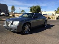 2007 Chrysler 300, resting on 22's! My amazing