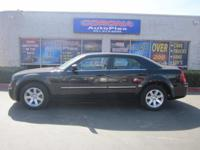 This is a beautiful BLACK 2007 CHRYSLER 300 TOURING 4