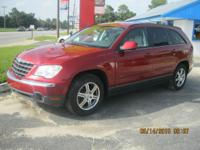 2007 CHRYSLER PACIFICA TOURING 2 WD, V-6 AUTOMATIC,