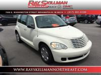 EPA 29 MPG Hwy/22 MPG City! PT Cruiser trim. CD Player,