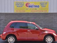 2007 Chrysler PT Cruiser Limited  in Inferno Red
