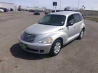 Silver 2007 Chrysler PT Cruiser Touring FWD 5-Speed