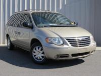 Clean CARFAX. 2007 Chrysler Town & Country Limited 3.8L