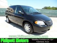 Options Included: N/A2007 Chrysler Town Country, black
