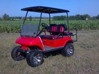 2007 Club Car Golf Cart for sale - Four-seater that