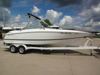 This is a beautiful 2007 Cobalt 240 speed cruiser. If