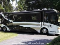 Intrigue 530 Series Jubilee with 4 slide-outs. Offered