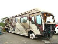 2007 COUNTRY COACH MAGNA 360 FOR SALE. REBUILDABLE