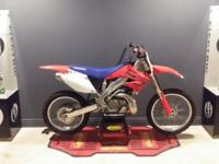 2007 CR250. hard to find year and collectors item, last