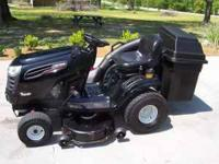 2007 Craftsman 42'' tractor with double bagger. This is