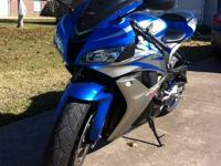 2007 CBR 600RR I am selling bike due to having neck