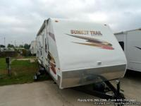 2007 CrossRoads Sunset Trail 31 QB Travel Trailer -