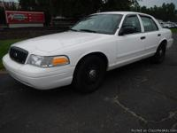 2007 Ford Crown Victoria Police Car, 105,316 odometer