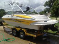 2007 Crownline 210 LS Razor 5.0 V8 230 hp Boat and