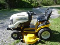 "2007 CUB CADET RIDING MOWER 54"" deck/ 27 HP kohler"
