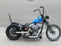 - Old School chopper- Rigid frame- Originally
