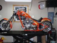2007 Big Dog K-9 Chopper. This bike has 4,943 miles on