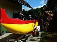 2007 Custom Outrigger Canoe Please contact owner Bob at