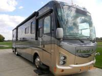 37.6' ultra clean used class A diesel motor home with