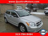 Look at this 2007 Dodge Caliber . Its Automatic