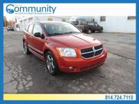 Dodge Caliber 2007 R/T Clean CARFAX. AWD, 4 Speakers,