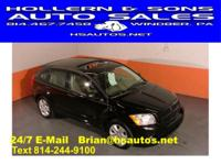 Options Included: 31 MPG! 2007 Dodge Caliber SXT in