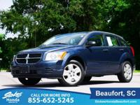 2007 Dodge Caliber in Gray. Sporty! Tows with ease. In