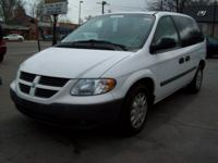 Options Included: Cargo Van. No Seats.CD Player, ABS,