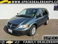 This 2007 Dodge Caravan is equipped with automatic