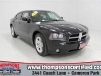 This 2007 Dodge Charger breaks through the pack of