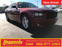 This 2007 Dodge Charger R/T in Inferno Red Crystal