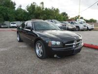 Options:  2007 Dodge Charger 5-Spd This Vehicle Has A