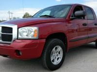 Our 2007 Dodge Dakota SLT Quad cab 4x4 flex fuel just