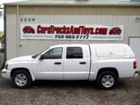This Dodge Dakota has super low miles and is ready and