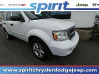 This mighty 2007 Dodge Durango Limited, with its grippy