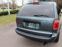 Don't miss this offer! 2007 green Dodge Grand Caravan