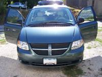 For Sale 2007 Dodge Grand Caravan Green/ Gray Interior